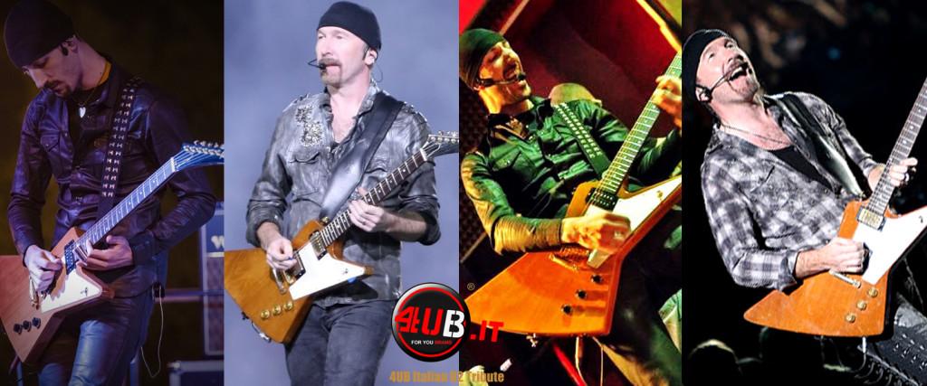 4UB Italian U2 Tribute - Anx & The Edge - Gibson Explorer