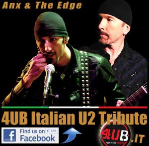 4UB Italian U2 Tribute - Andrea Anx Perego - The Edge